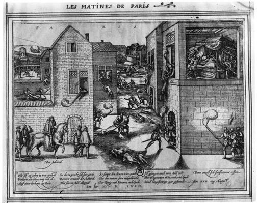 Death of Admiral Gaspard II de Coligny