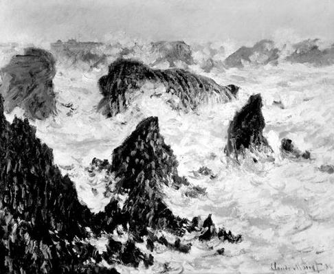 The Rocks of Belle-Ile, 1886