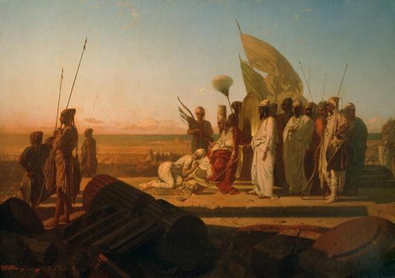Xerxes at the Hellespont