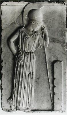 Relief of the Mourning Athena, c.460