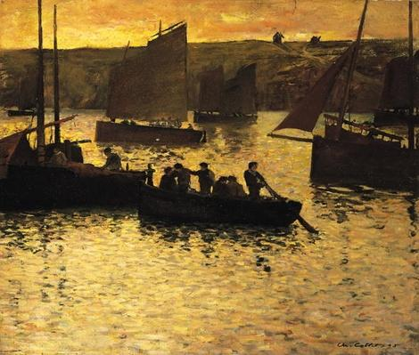 In the Port, 1895