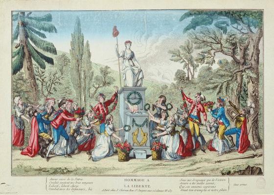 A Tribute to Liberty, Fete de l'Unite, 10 August 1793