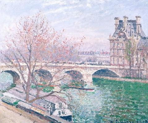 The Pont-Royal and the Pavillon de Flore, 1903