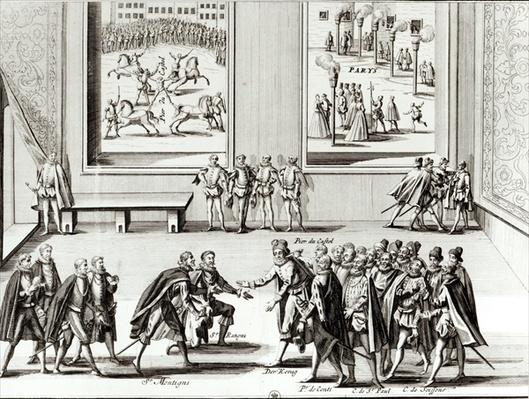 Two Scenes: The Attempted Assassination of Henri IV