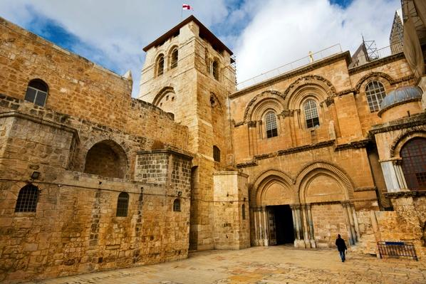 Church of the Holy Sepulchre in Jerusalem  | World Religions: Christianity
