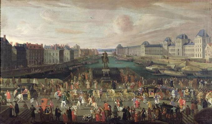 Procession of Louis XIV