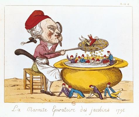 The Purifying Pot of the Jacobins, 1793