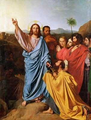 Jesus Returning the Keys to St. Peter, 1820