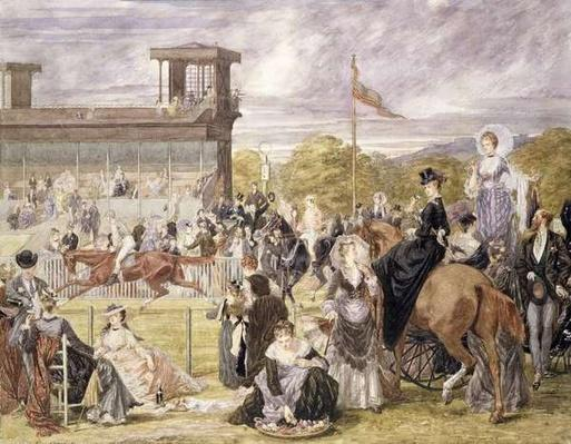 The Races at Longchamp in 1874