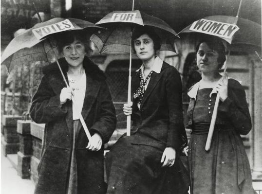 Suffragists Lobby Delegates | Ken Burns: Not for Ourselves Alone