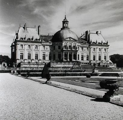 View of the garden facade, 1657-61