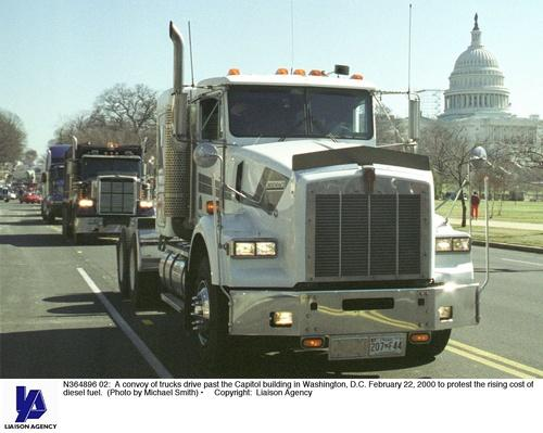Truckers Protest in Washington DC | The Study of Economics