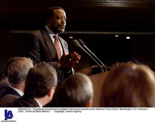 Republican Candidate Alan Keyes Speaks at the National Press Club | U.S. Presidential Elections: 2000