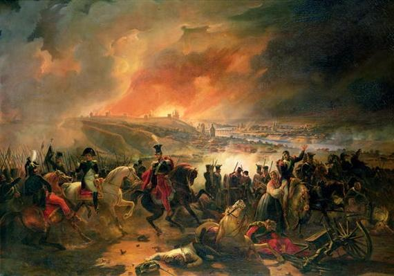 The Battle of Smolensk, 17th August 1812, 1839