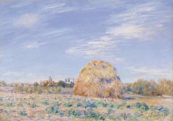 Haystack on the Banks of the Loing, 1891