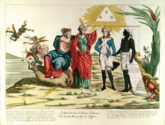 'All Mortals are Equal, it is not Birth but Virtue that Makes the Difference', 1793