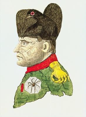 Caricature of Napoleon Bonaparte