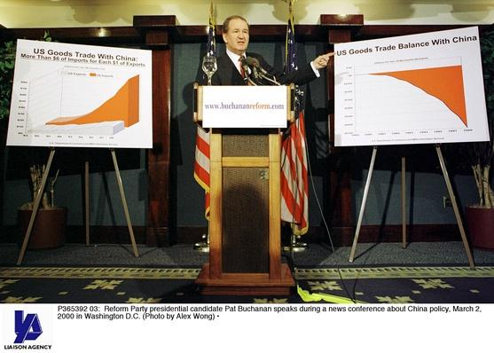 Reform Party Candidate Pat Buchanan Speaks About Trade Relations With China | U.S. Presidential Elections: 2000
