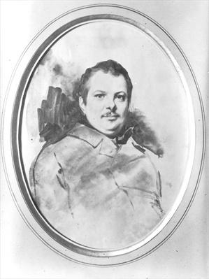 Portrait of Honore de Balzac