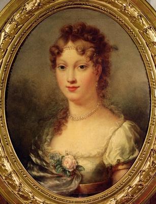 Portrait of Marie-Louise de Hapsburg-Lorraine