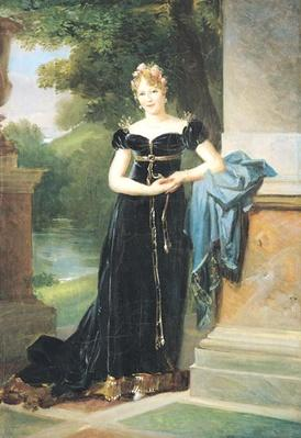 Portrait of Marie Laczinska