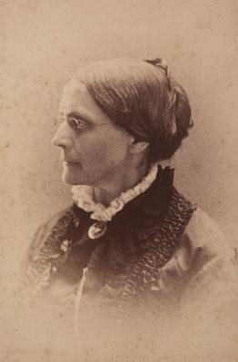Susan B. Anthony Portrait | Ken Burns: Not for Ourselves Alone