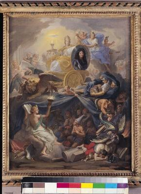 Triumph of Religion, 1686