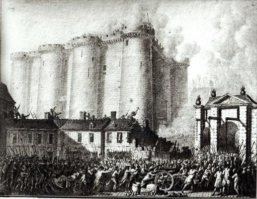 Siege of the Bastille, 14th July 1789
