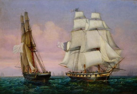 Return from Elba, c.1852