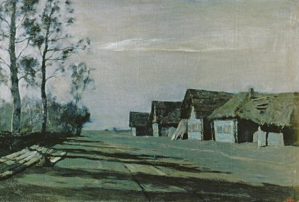 Village by Moonlight, 1897