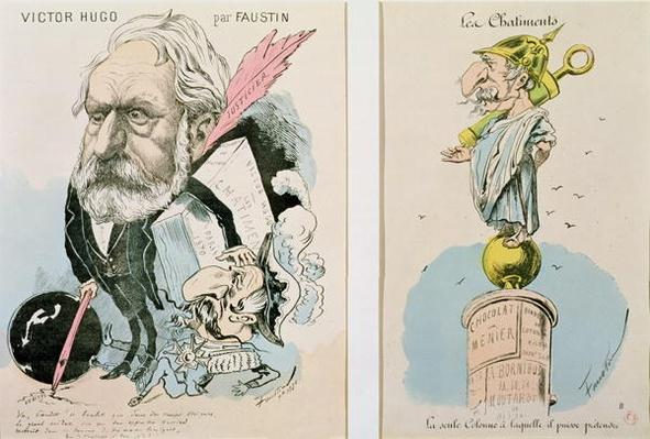 Caricatures of Victor Hugo