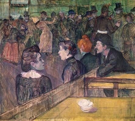 At the Moulin de la Galette, 1899