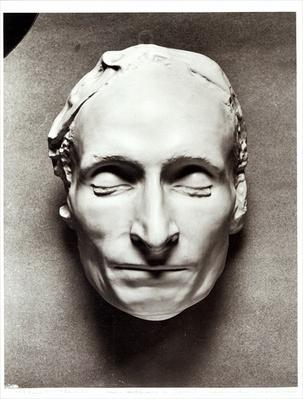 Death mask of Blaise Pascal
