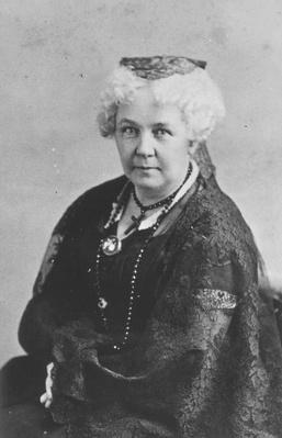 Elizabeth Cady Stanton Portrait | Ken Burns: Not for Ourselves Alone