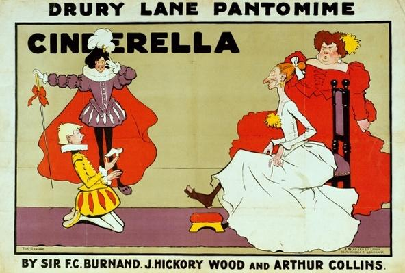 Poster for 'Cinderella'