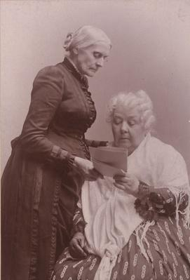 Susan B. Anthony with Elizabeth Cady Stanton | Ken Burns: Not for Ourselves Alone