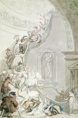 The Exhibition 'Stare-Case', Somerset House, c.1800