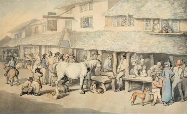 French Prisoners on Parole at Bodmin, Cornwall, 1795