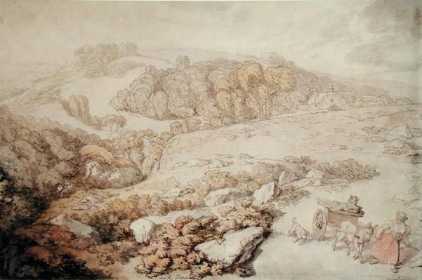 Bodmin Moor, North Cornwall, c.1825