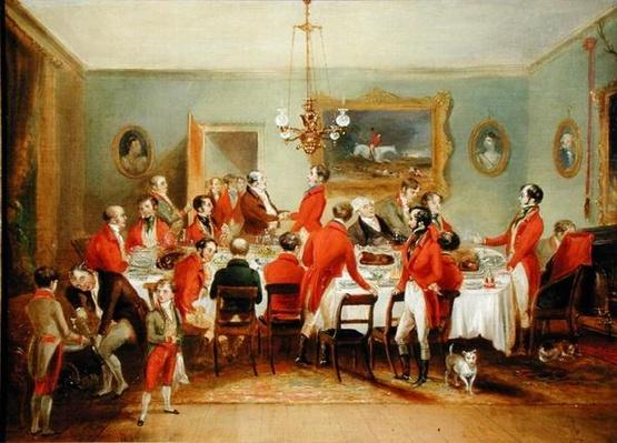 The Hunt Breakfast, Bachelor's Hall, 1836