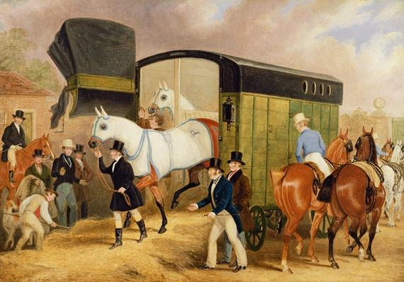 The Derby Pets: The Arrival, 1842