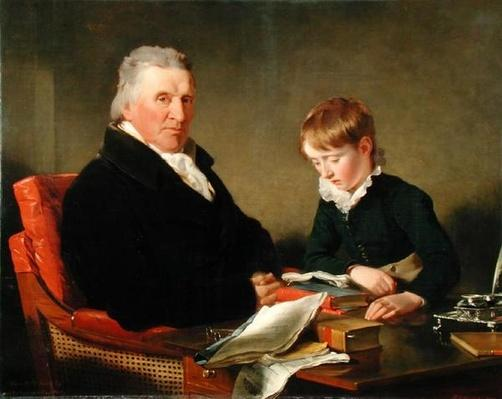 Francis Noel Clarke Mundy and his Grandson, William Mundy, 1809