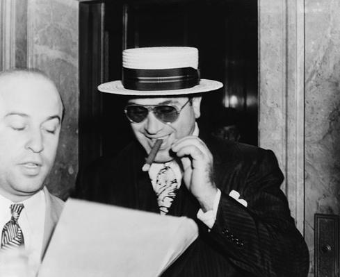 Al Capone with a Cigar | Ken Burns: Prohibition
