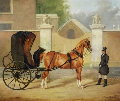 Gentlemen's Carriages: A Cabriolet, c.1820-30