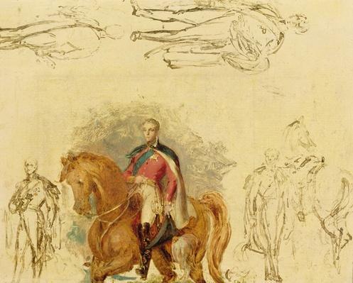 Studies for the Duke of Wellington