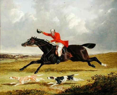 Encouraging Hounds, 1839