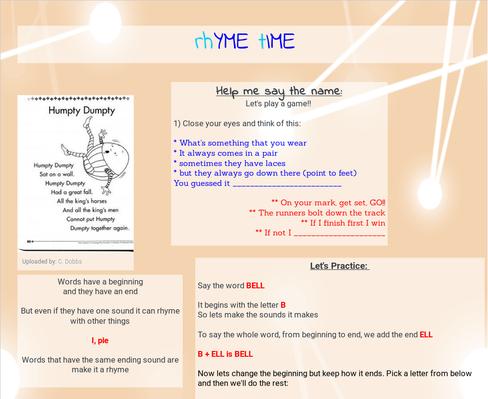 rhYME tIME | PBS LearningMedia