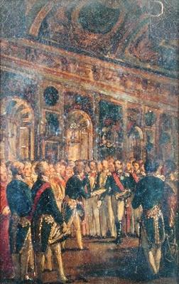 The Senate Presenting Louis Napoleon Bonaparte