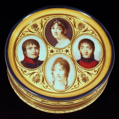 Bonbonniere with portraits of Eugene