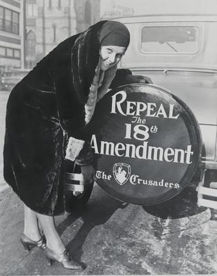 "A Woman ""Crusader"" Poses | Ken Burns: Prohibition"